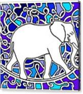 Elephant Rocker Blue Magoo Acrylic Print