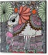 Elephants 1 Acrylic Print