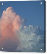 Elephants  Clouds Acrylic Print