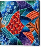 Eletric Fish Acrylic Print