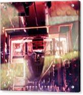 Elevator Ascends Acrylic Print