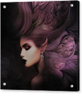 Elf Mystical Beauty 02 Acrylic Print