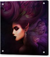 Elf Mystical Beauty Acrylic Print