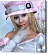 Elfin Beauty Acrylic Print