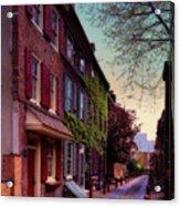 Elfreth's Alley Acrylic Print