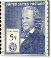 Elias Howe (1819-1867) Acrylic Print