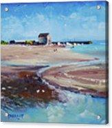 Elie Beach 2018 Oil Acrylic Print