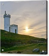 Elie Lighthouse. Late Afternoon. Acrylic Print
