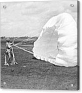 Elinor Smith Parachutes Acrylic Print
