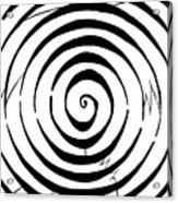 Eliptical Maze Acrylic Print