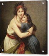 Elisabeth Vigee-lebrun, 1755-1842. Acrylic Print