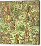 Elizabeth I, 1533-1603 Acrylic Print