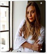 Elizabeth Olsen Acrylic Print