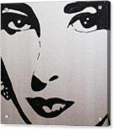 Elizabeth Taylor Diams Acrylic Print