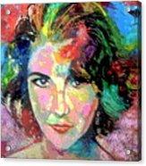Elizabeth Taylor Acrylic Print