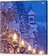 Elk Avenue Wreaths Acrylic Print