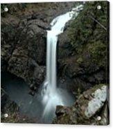 Elk Falls Provincial Park Waterfall Acrylic Print
