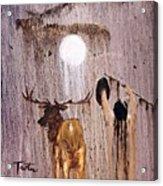 Elk Spirit Acrylic Print