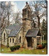 Elkhart Illinois Chapel Acrylic Print