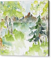 Elkridge Greens Acrylic Print