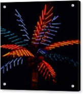 Ellas Neon Palm Acrylic Print