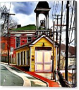 Ellicott City Fire Museum Acrylic Print