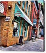 Ellicott City Shops Acrylic Print