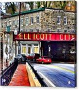 Ellicott City Acrylic Print