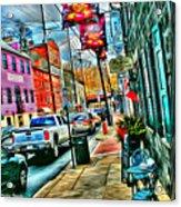 Ellicott City Street Acrylic Print
