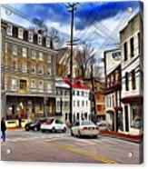 Ellicott City Streets Acrylic Print