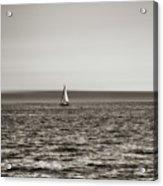 Elliott Bay Sailing Acrylic Print