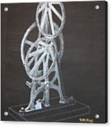 Elliptical Gears Acrylic Print