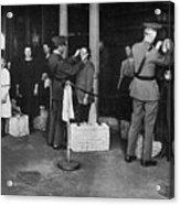 Ellis Island: Examination Acrylic Print