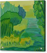 Ellis River Acrylic Print