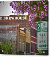 Elm Street Downtown Greensboro Acrylic Print