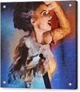 Elsa Lanchester, Bride Of Frankenstein Acrylic Print
