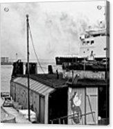 Elsinore Port Denmark Acrylic Print