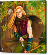 Elven Hunter Acrylic Print