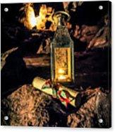 Elves Lantern Acrylic Print