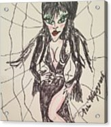 Elvira Mistress Of The Dark Acrylic Print