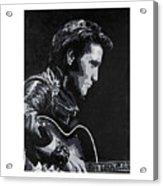 Elvis 1963 Comeback Show Acrylic Print