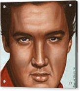 Elvis 24 1958 Acrylic Print