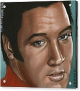Elvis 24 1968 Acrylic Print