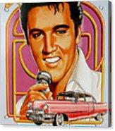 Elvis-an American Classic Acrylic Print