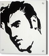 Elvis Before Time Acrylic Print