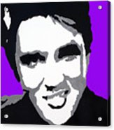Elvis Don't Live Here Anymore Acrylic Print