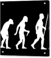 Elvis Evolution Pop Art Acrylic Print