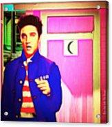 Elvis Has Left The House 20151225 Square Acrylic Print
