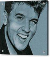 Elvis Is Back Acrylic Print