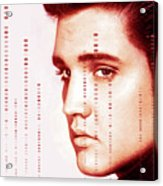Elvis Preslely Acrylic Print